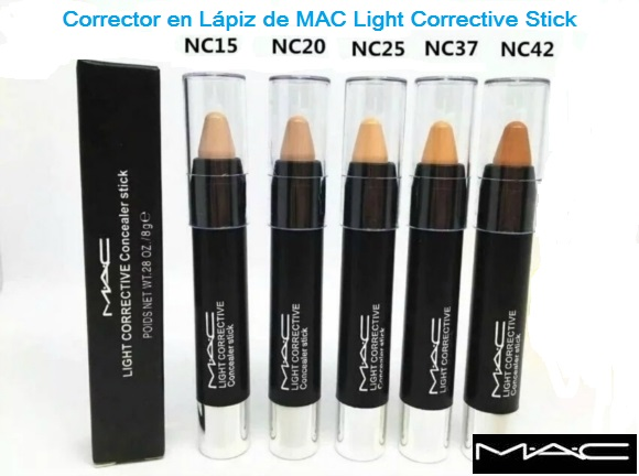 Corrector MAC Light Corrective Stick NC15